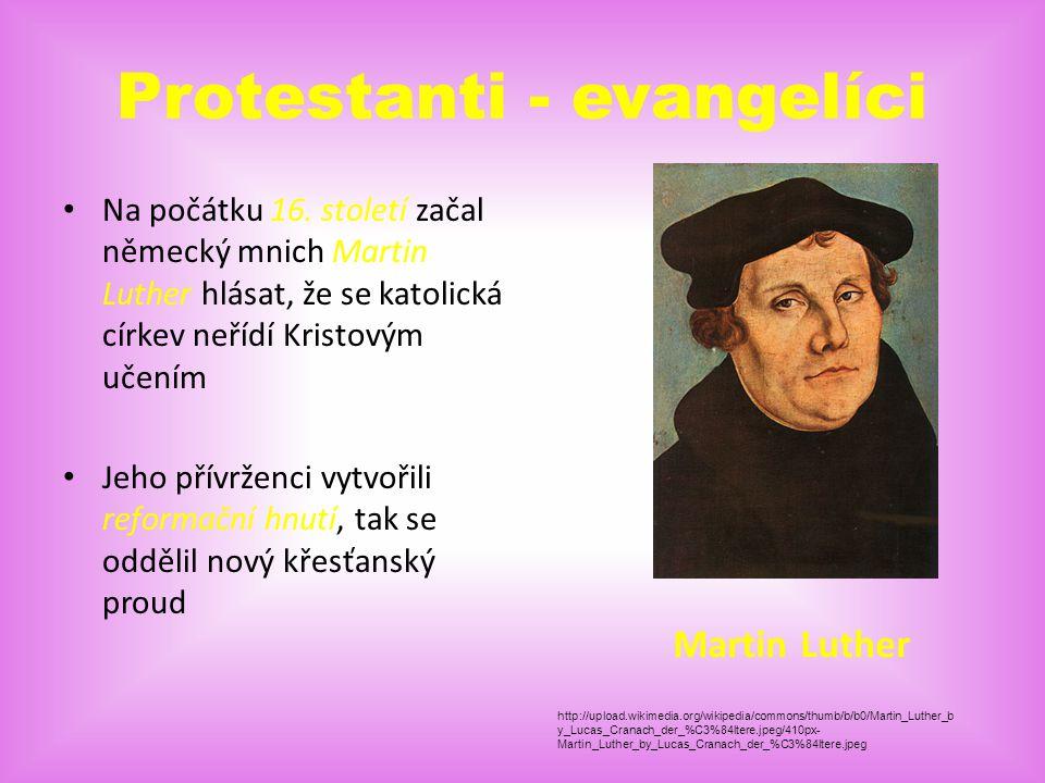 Pravoslavní - ortodoxní V roce 1054 se odštěpili od katolické církve Pravoslavní neuznávají římského papeže, jinak mají tyto dvě církve mnoho společné