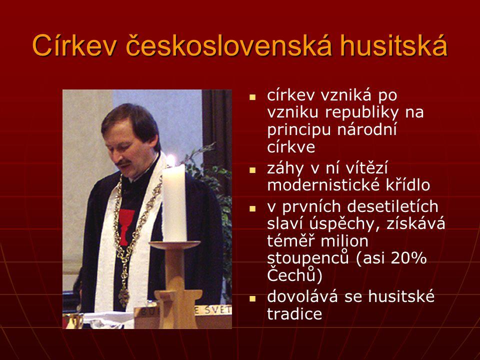 Evangelická farářka a katolický kněz při společné modlitbě