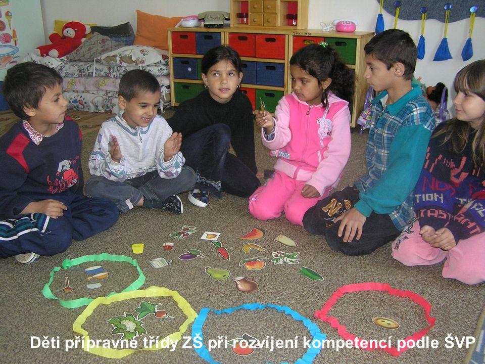 Děti přípravné třídy ZŠ při rozvíjení kompetencí podle ŠVP