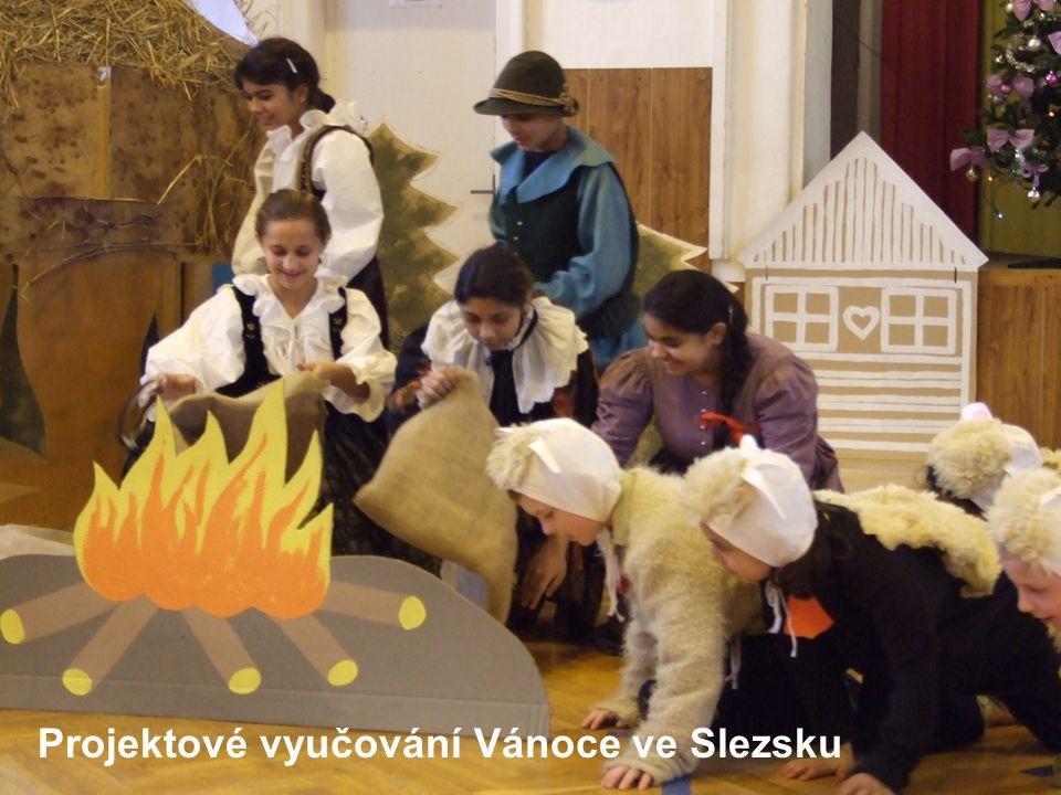 Projektové vyučování Vánoce ve Slezsku