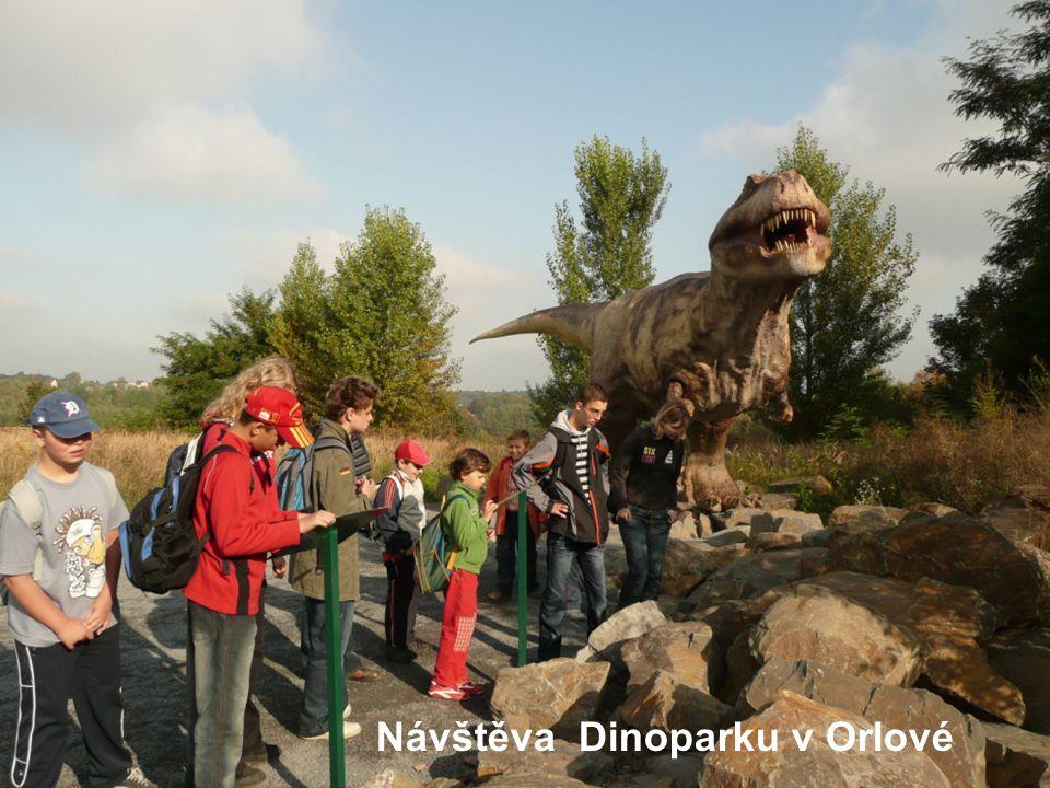 Návštěva Dinoparku v Orlové