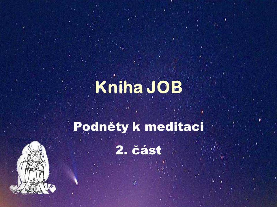 Kniha JOB Podněty k meditaci 2. část