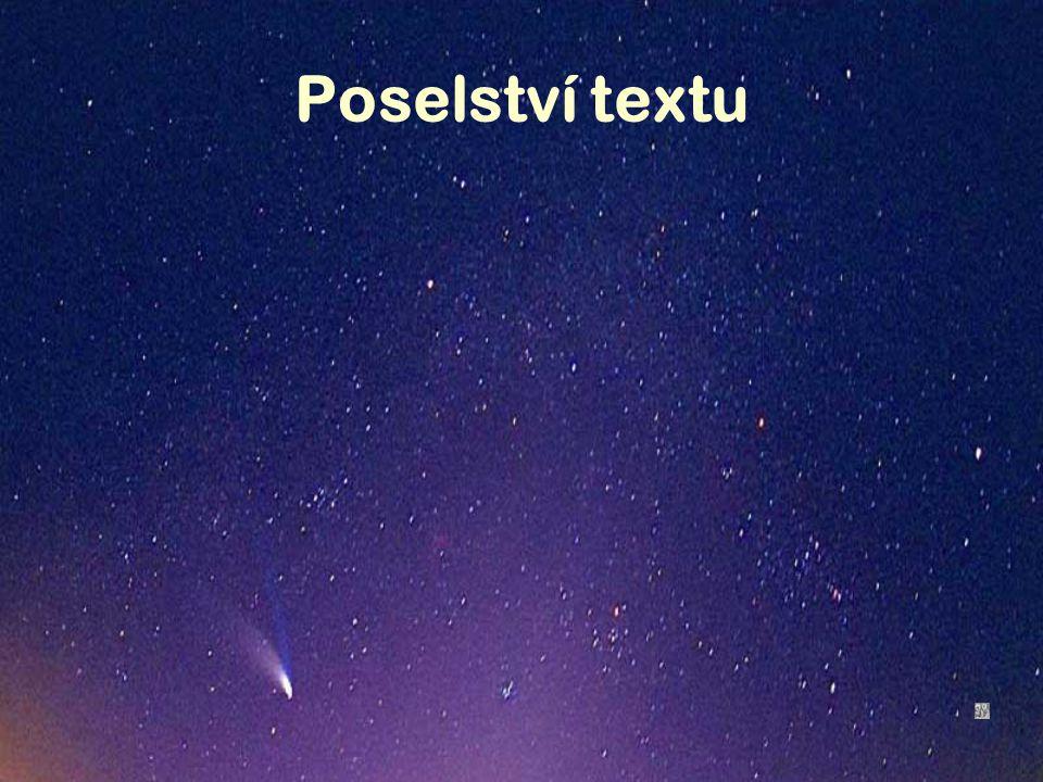 Poselství textu