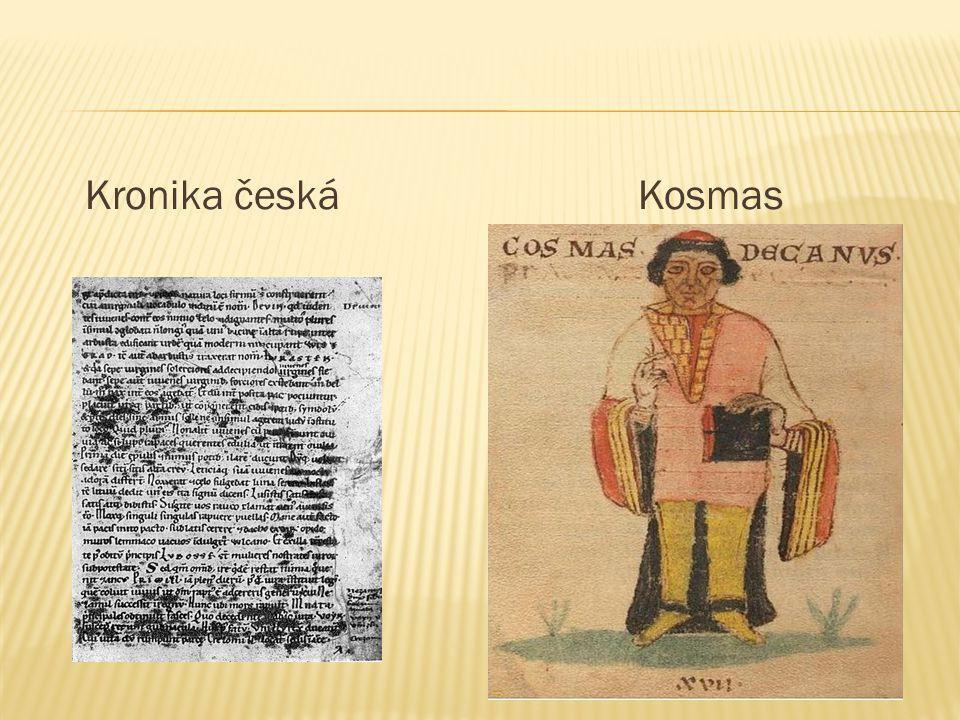 Kronika česká Kosmas