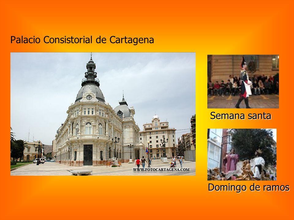 Palacio Consistorial de Cartagena Semana santa Domingo de ramos