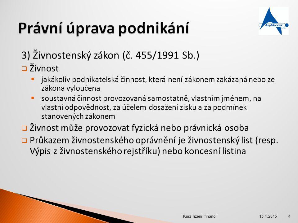 4) Společnost s ručením omezeným  s.r.o.může založit 1 FO či PO  Min.