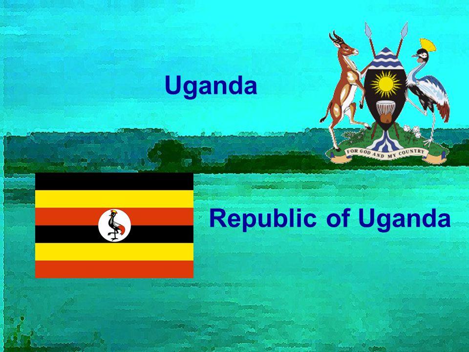 Obecné informace Hlavní město : Kampala Poloha : 1° – 4°S; 29°- 35° V Rozloha : 241 038 km² Počet obyvatel : 30 262 000 Měna : Ugandský šilink (100 UGX = 11 Kč) Sousední země : Keňa, Demokratická republika Kongo, Rwanda, Tanzanie