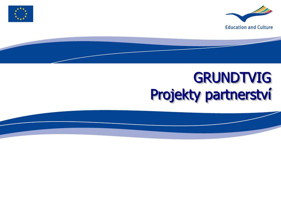 GRUNDTVIG Projekty partnerství