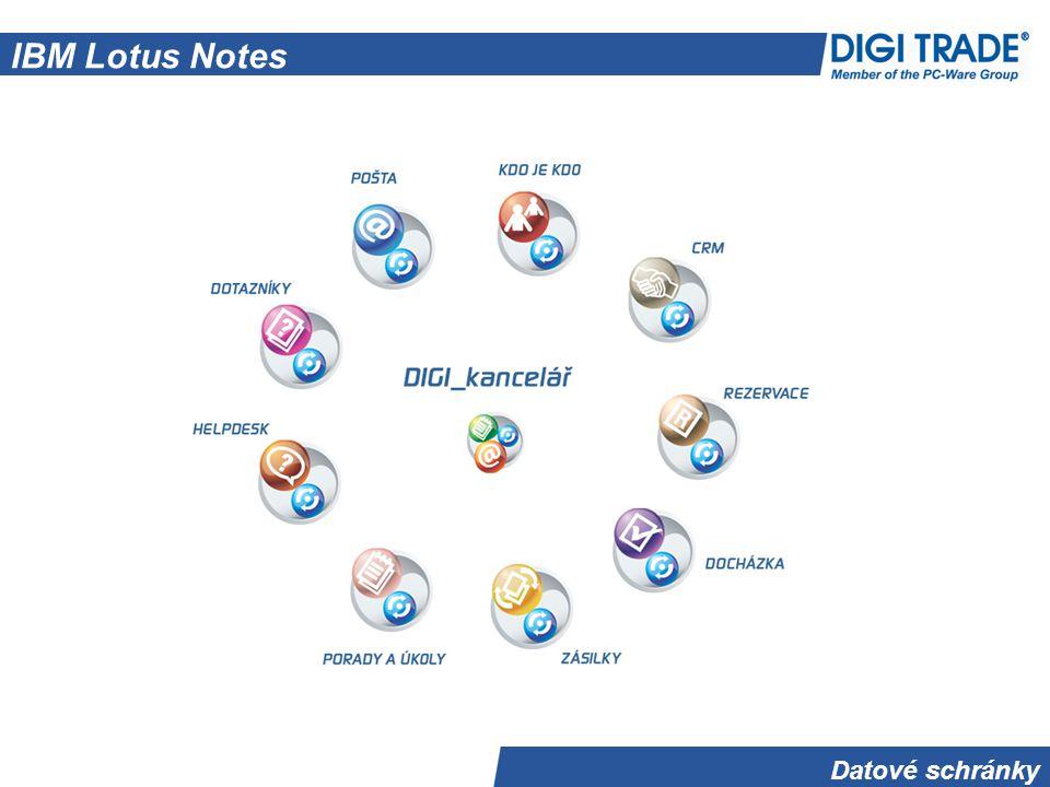 Datové schránky IBM Lotus Notes