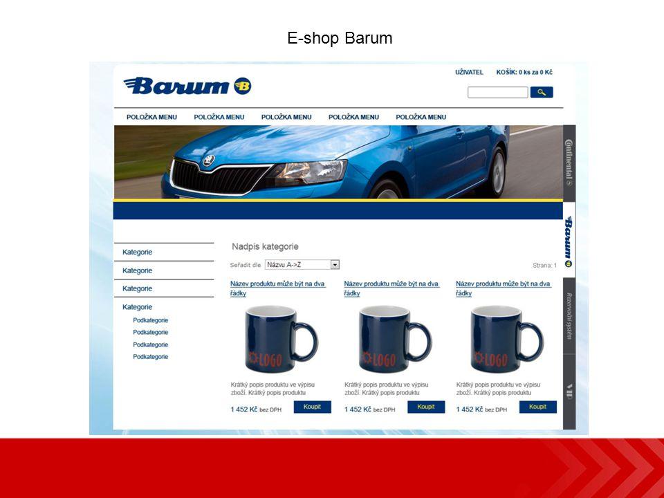 E-shop Barum