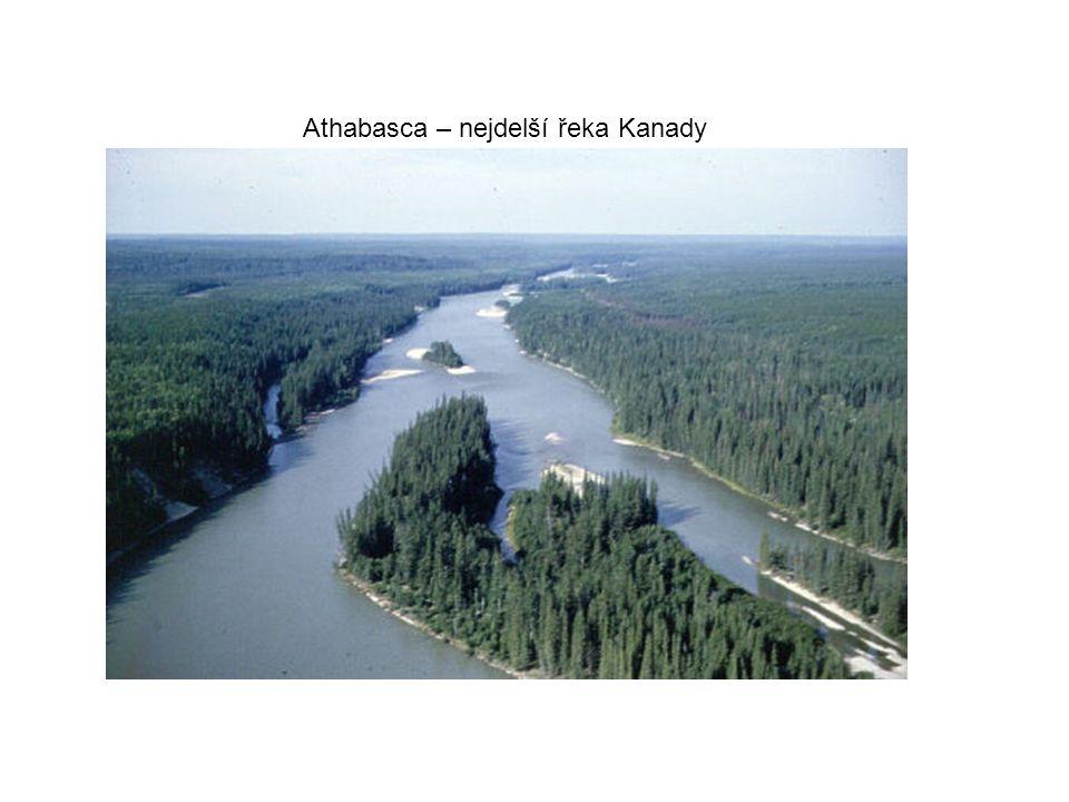 Athabasca – nejdelší řeka Kanady