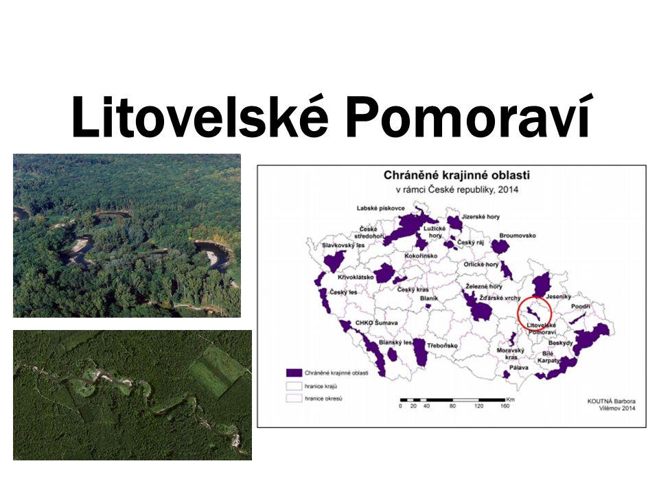 Základní informace Rozloha: 96km 2 Založena roku 1990 z důvodu ochrany přirozeného meandrujícího toku řeky Moravy a na něj navazujícího komplexu lužních lesů.