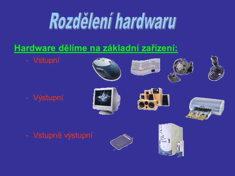 -zařízení, kterým ovládáme programy v počítači, vkládáme a upravujeme data.