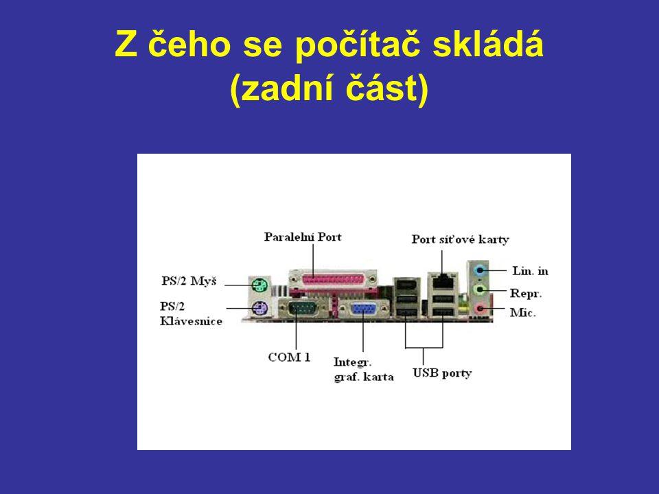 Základní deska Základní deska - je velice důležitou součástí počítače.