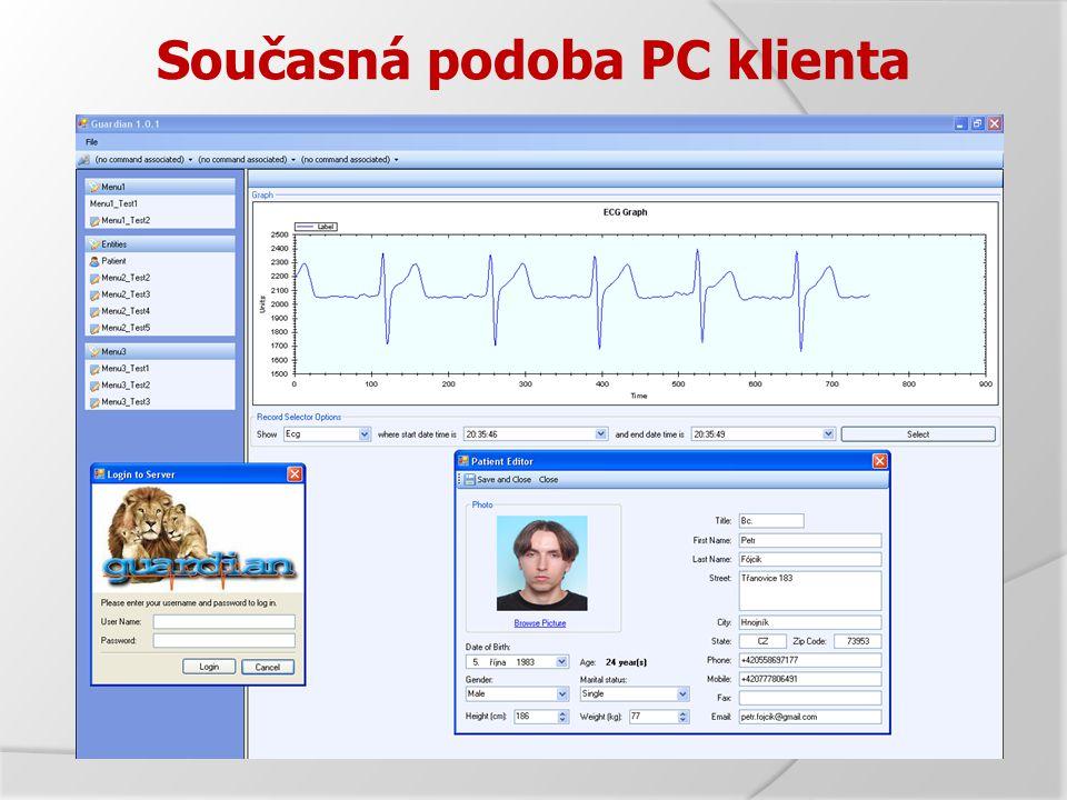 Současná podoba PC klienta