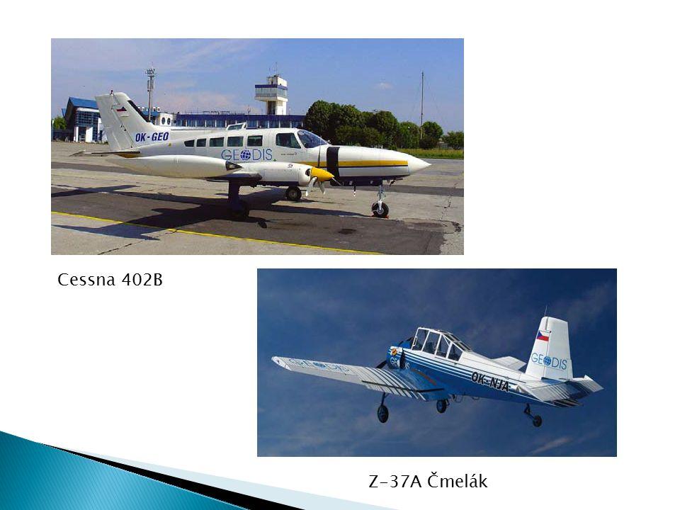 Cessna 402B Z-37A Čmelák