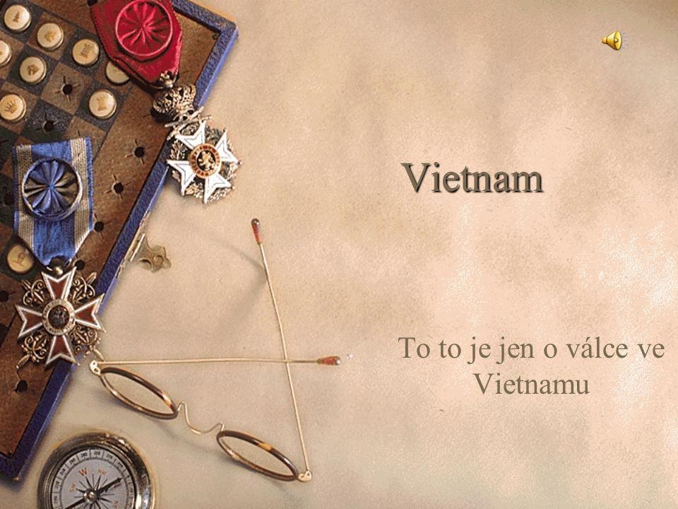 Vietnam To to je jen o válce ve Vietnamu