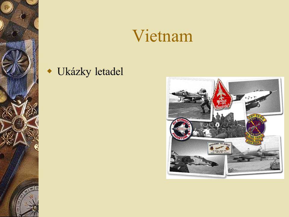 Vietnam  Ukázky letadel