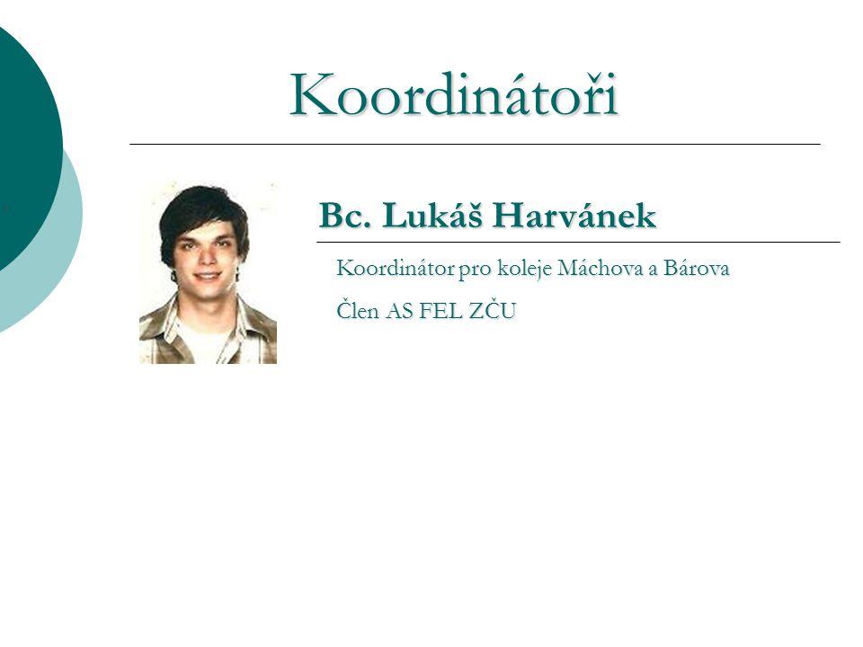 Koordinátoři Hromadný e-mail: koo@fel.zcu.cz Internetové stránky: http://koo.fel.zcu.cz Nástěnka KOO v přízemí objektu EU