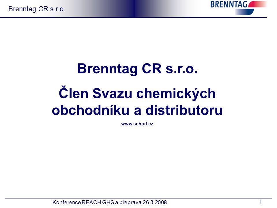 1 Brenntag CR s.r.o.