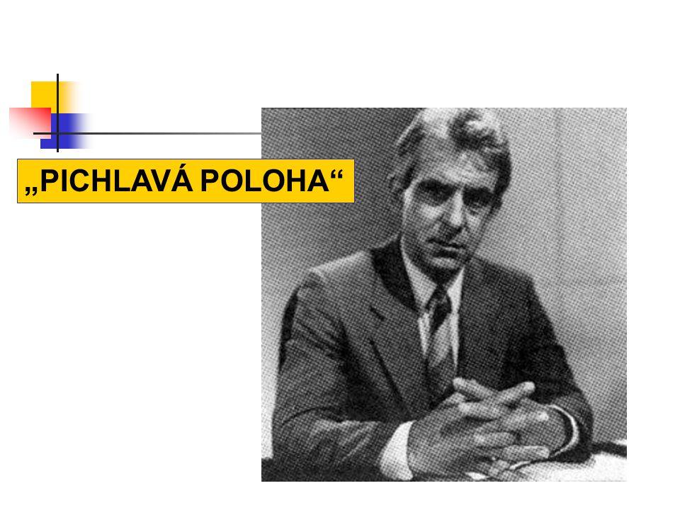 """""""PICHLAVÁ POLOHA"""