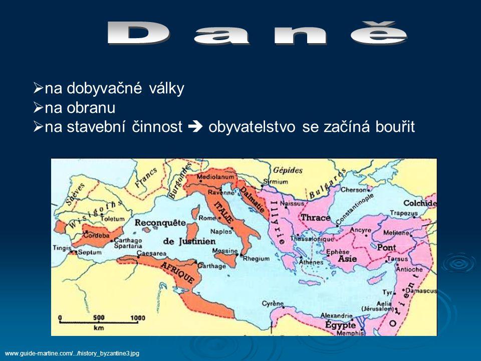  Justiniánova manželka  pocházela z nejnižších vrstev konstantinopolské společnosti (herečka)  velice inteligentní  velký vliv na muže www.znojemskarotunda.com/images/rav_thec.jpg