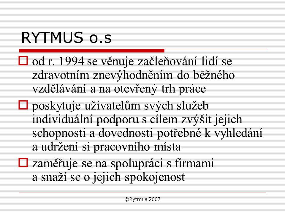 ©Rytmus 2007 RYTMUS o.s  od r.