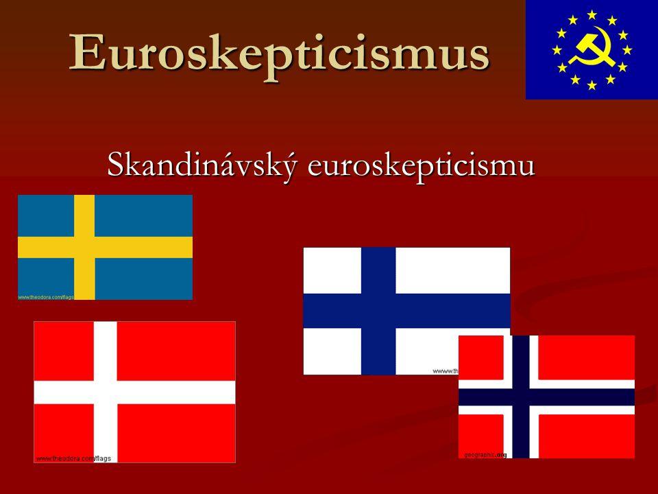 Euroskepticismus Skandinávský euroskepticismu