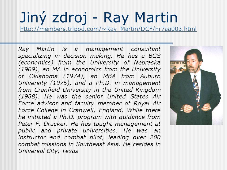 Jiný zdroj - Ray Martin http://members.tripod.com/~Ray_Martin/DCF/nr7aa003.html http://members.tripod.com/~Ray_Martin/DCF/nr7aa003.html Ray Martin is
