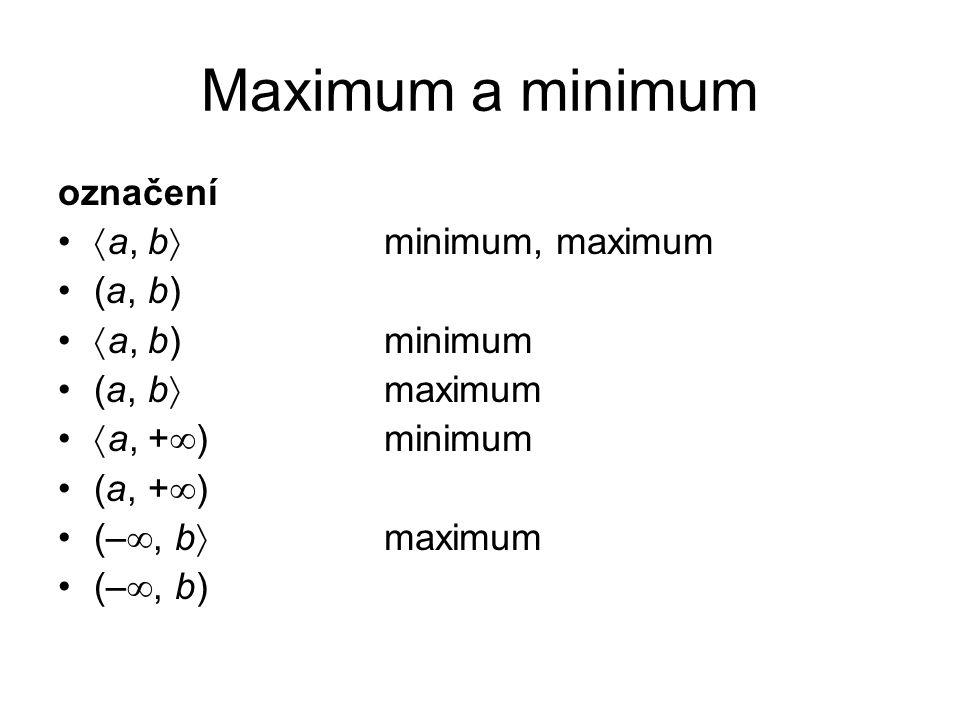 AB a b c 2 3 1 vzájemně jednoznačné zobrazení f: A  B inverzní zobrazení f -1 : B  A AB a b c 2 3 1