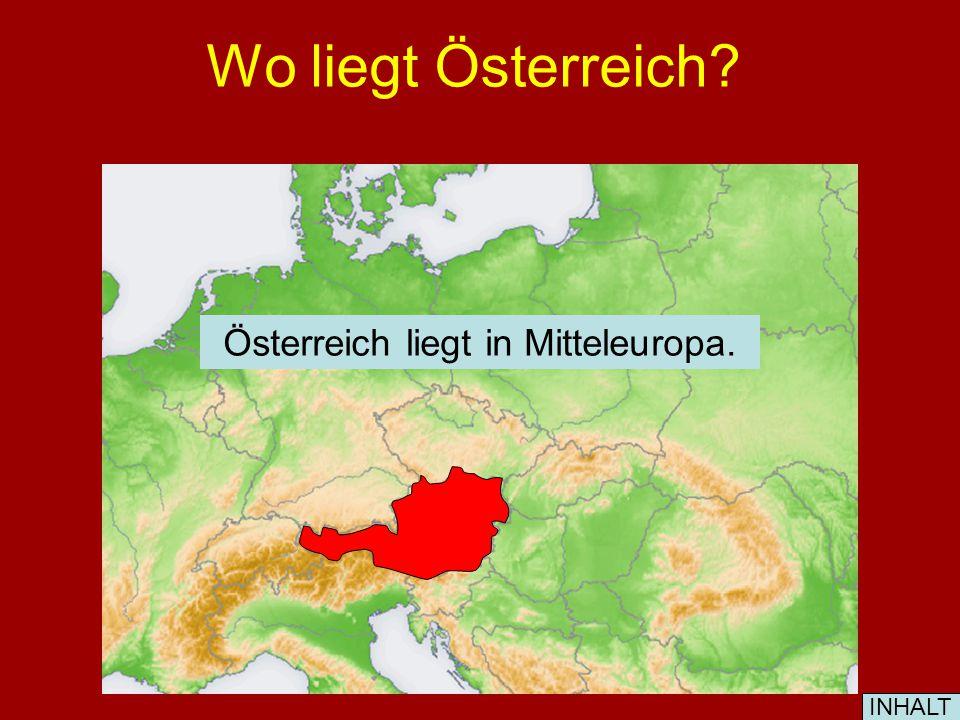 Welche Seen gibt es in Österreich.1. der Neusiedler See 2.