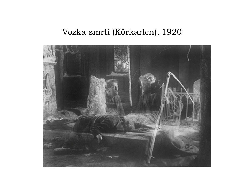 Vozka smrti (Körkarlen), 1920