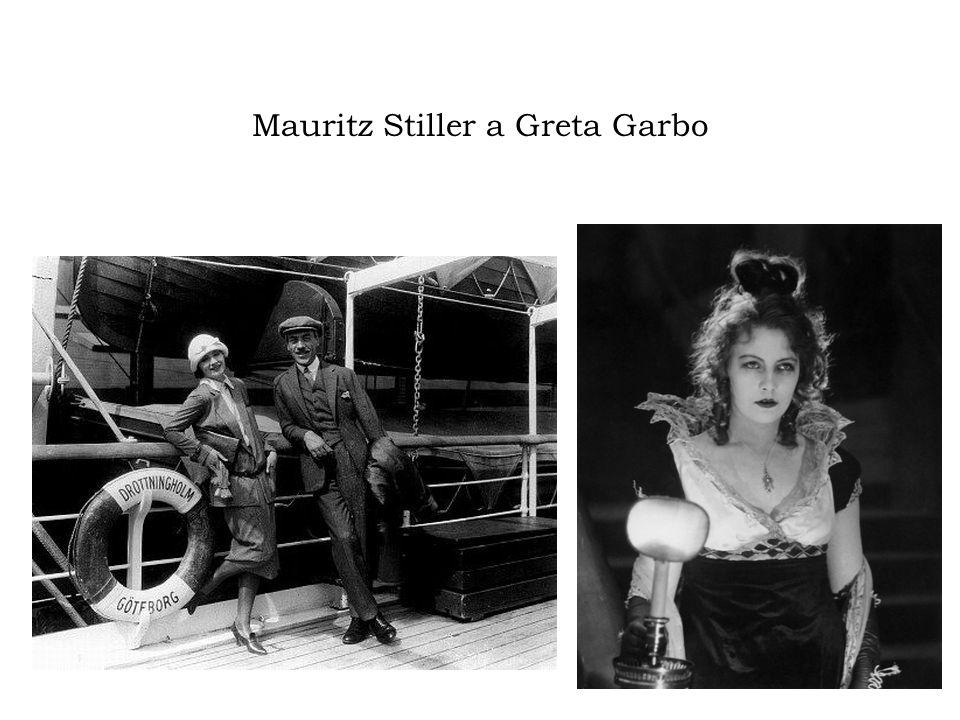 Mauritz Stiller a Greta Garbo