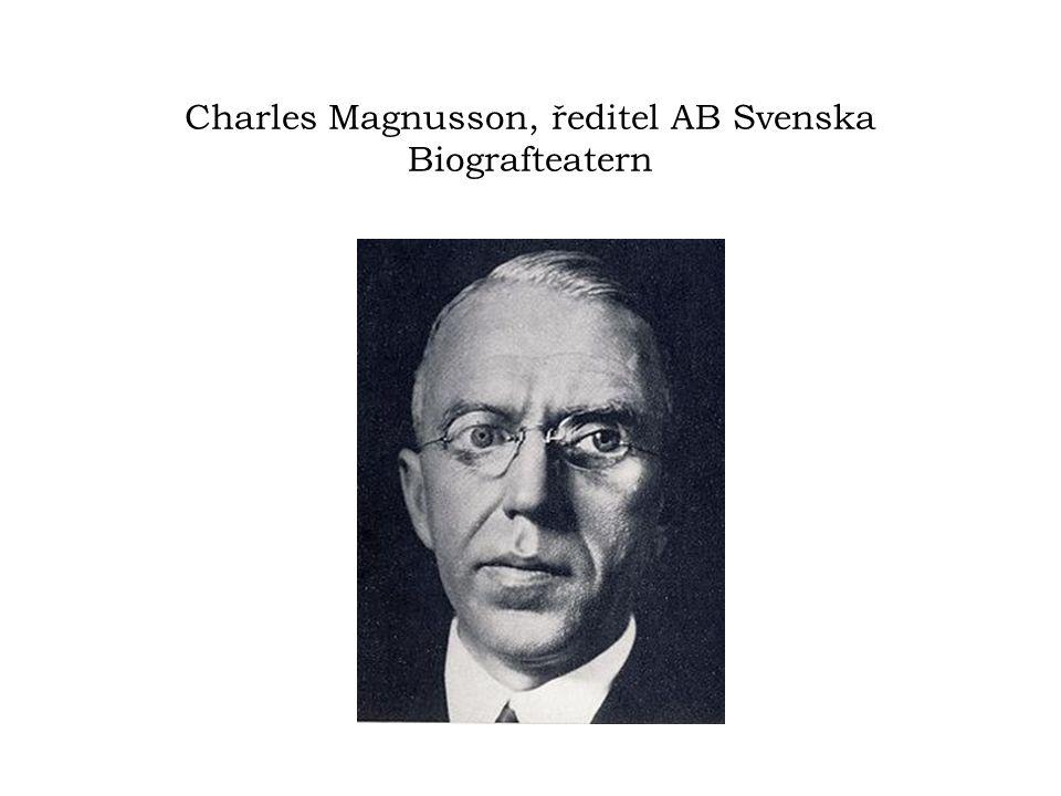 Charles Magnusson, ředitel AB Svenska Biografteatern