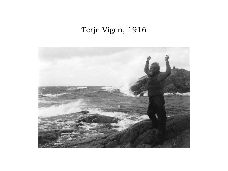 Terje Vigen, 1916