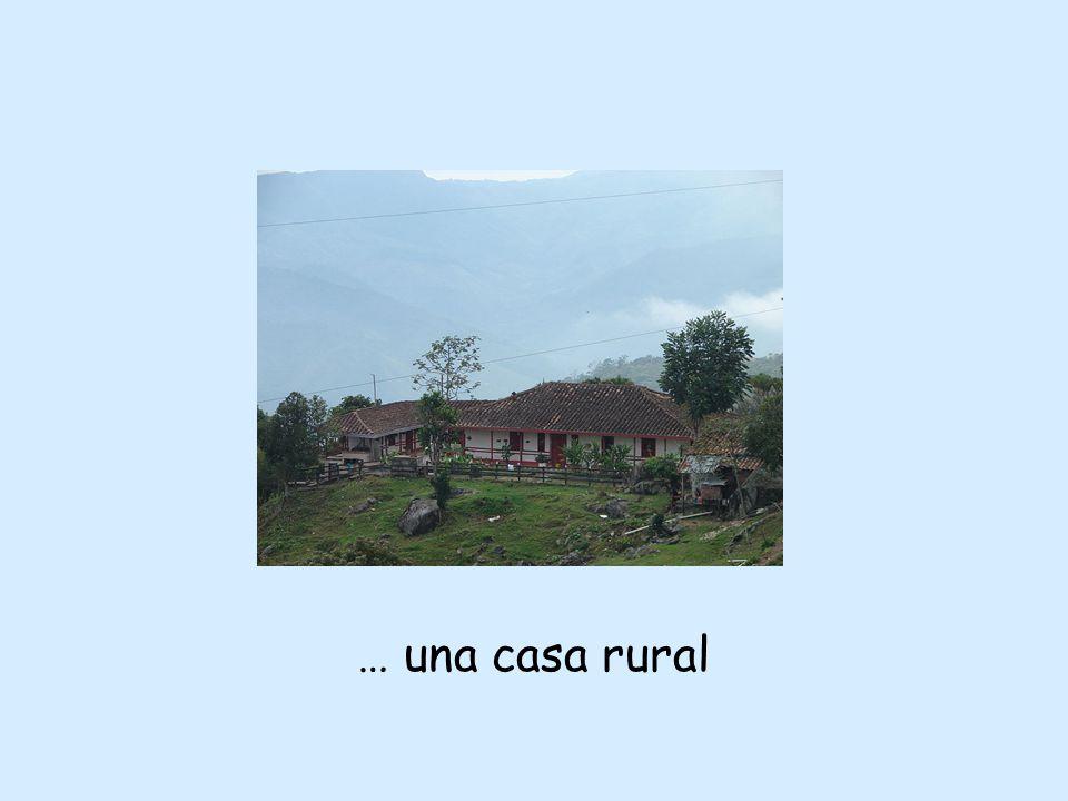… una casa rural