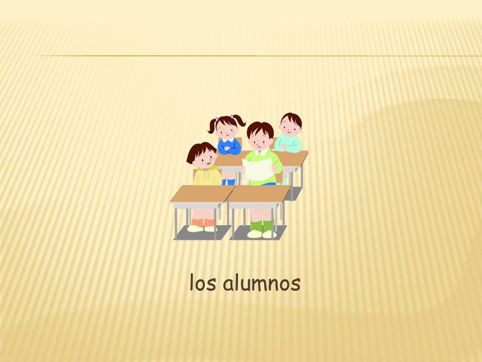 los alumnos