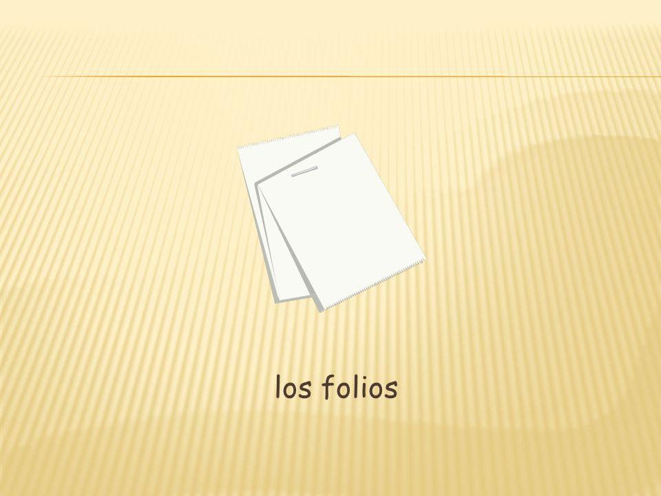 los folios