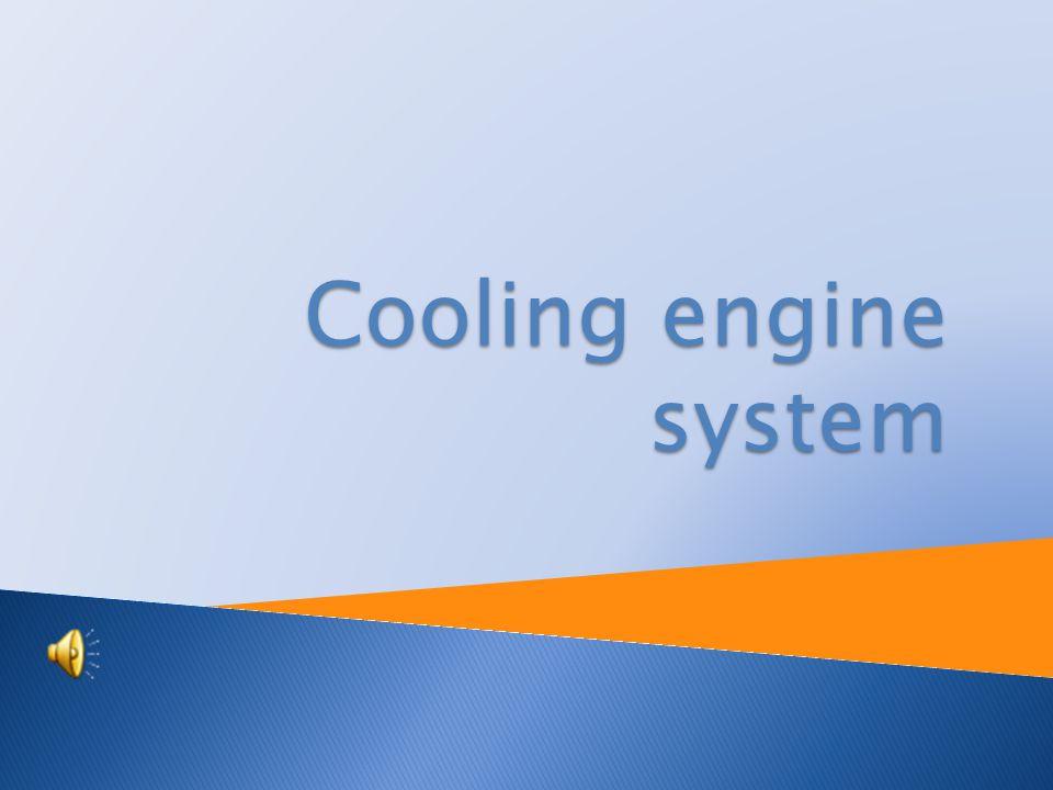 Cooling engine system