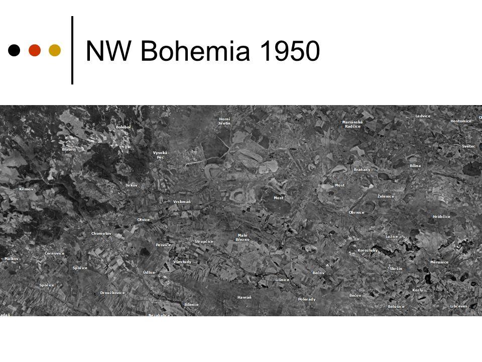 NW Bohemia 1950