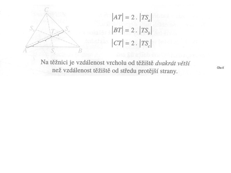 Bez měření rozhodni o jaký trojúhelník se jedná, popiš jej, Sestroj středy stran trojúhelníků a popiš těžnice a těžiště.