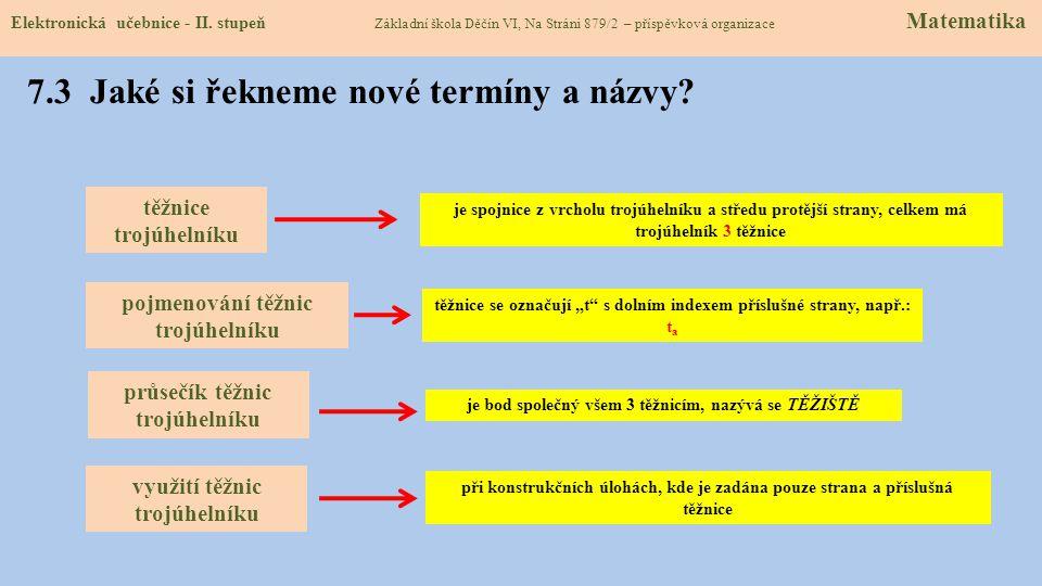 7.2 Co již víme o trojúhelnících.Elektronická učebnice - II.