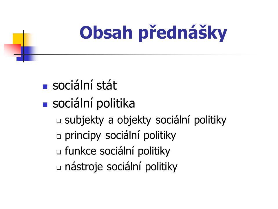 """Obsah přednášky  pojmy  sociální ochrana  """"social welfare  sociální zabezpečení/sociální bezpečnost  sociální událost  právo sociálního zabezpečení  sociální pojištění  sociální zaopatření  sociální pomoc"""