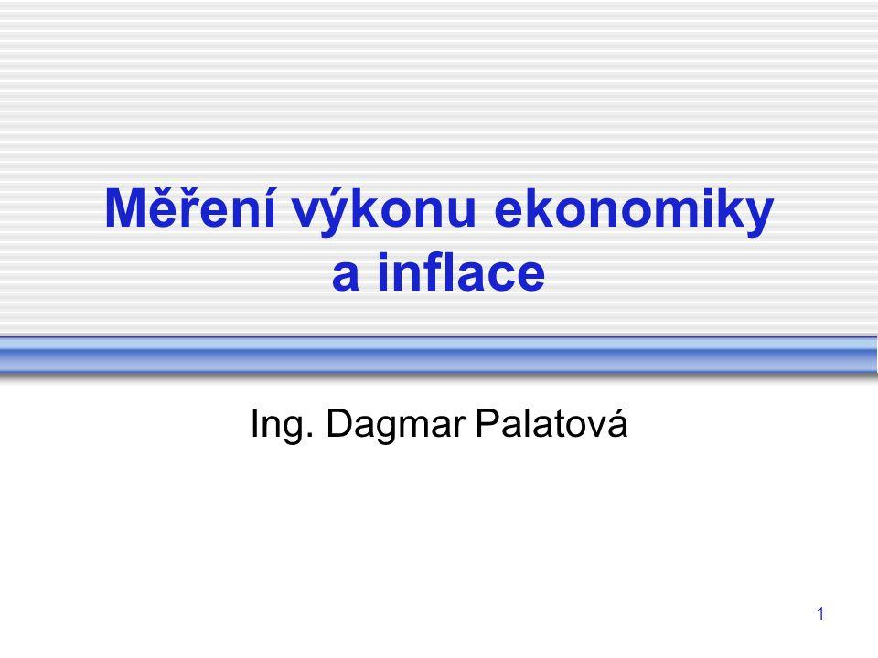 22 Nominání a reálný produkt ČR Roknomináln í HDPreálný HDP (v mld.