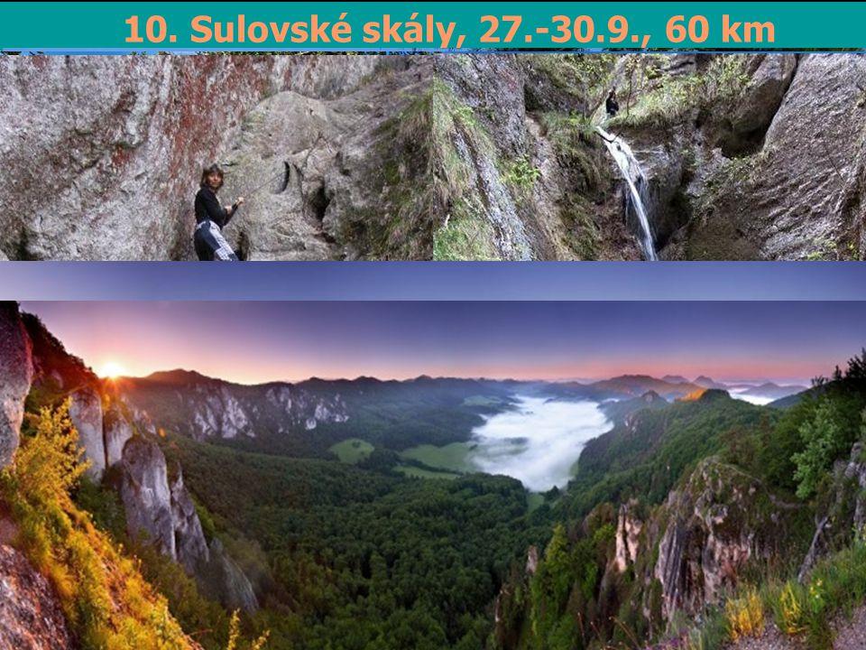 10. Sulovské skály, 27.-30.9., 60 km