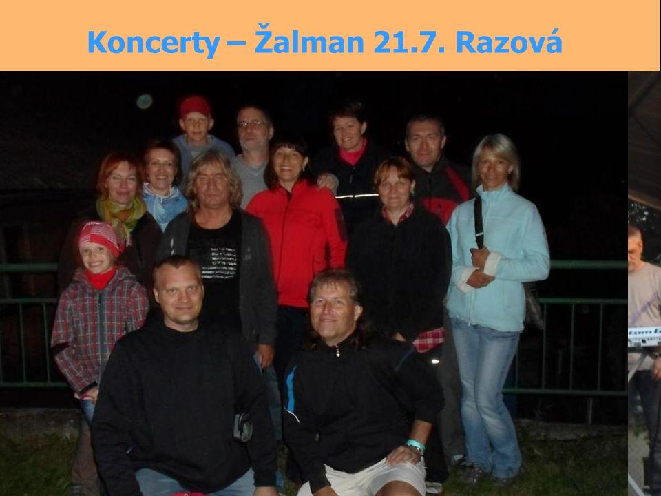 Koncerty – Žalman 21.7. Razová
