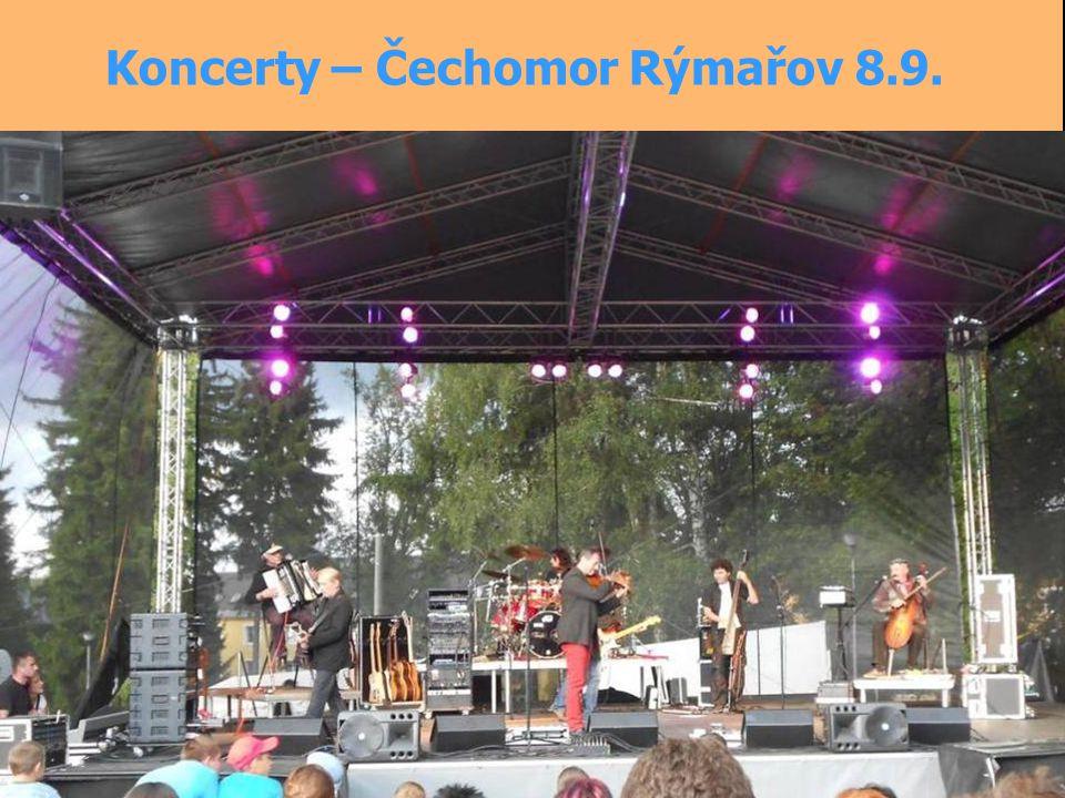 Koncerty – Čechomor Rýmařov 8.9.