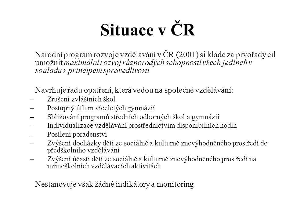 Diferenciace (PISA 2006)