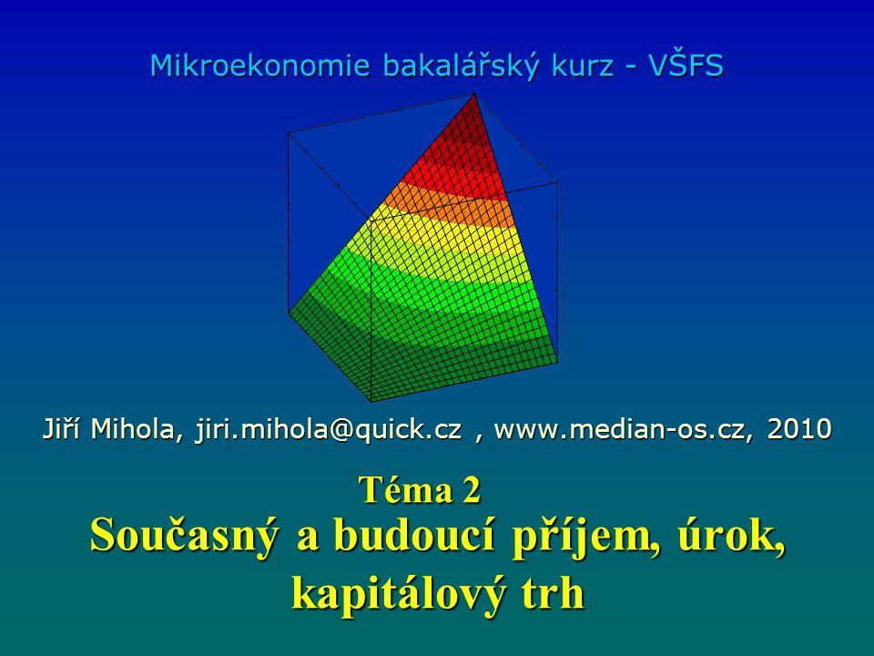 Riziko, nejistota a užitek Podproporcionální rostoucí tvar funkce celkového užitku mají lidé, kterým se nevyplatí hrát tzv.