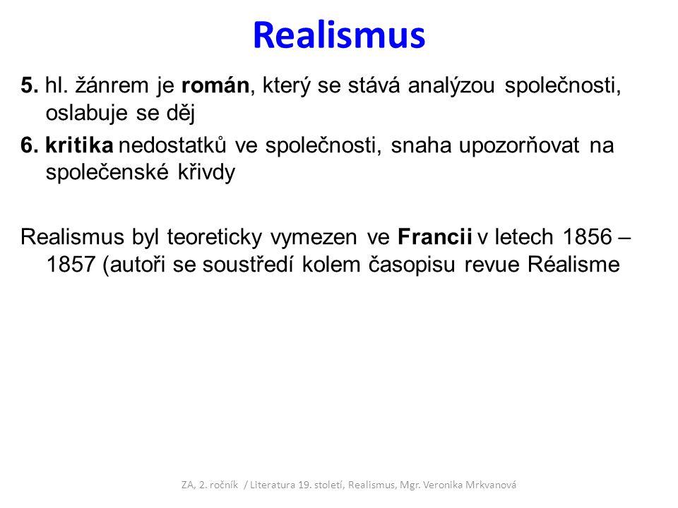 Realismus existuje specifický typ realismu – tzv.